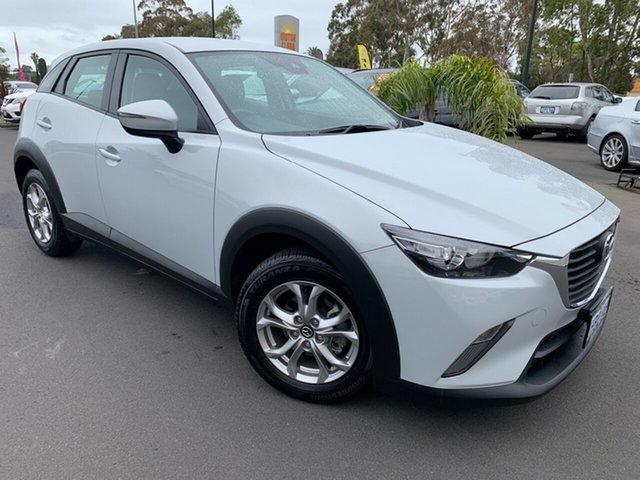 Used Mazda CX-3 DK2W7A Maxx SKYACTIV-Drive Bunbury, 2017 Mazda CX-3 DK2W7A Maxx SKYACTIV-Drive Light Grey 6 Speed Sports Automatic Wagon