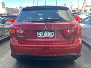 2016 Mitsubishi ASX XB MY15.5 XLS 2WD Red 6 Speed Constant Variable Wagon.