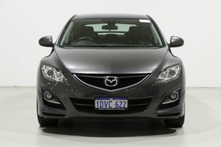 2012 Mazda 6 GH MY11 Touring Silver 5 Speed Auto Activematic Hatchback.