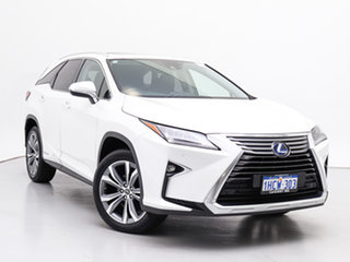 2018 Lexus RX450HL GYL26R MY18 Luxury Hybrid White Continuous Variable Wagon.