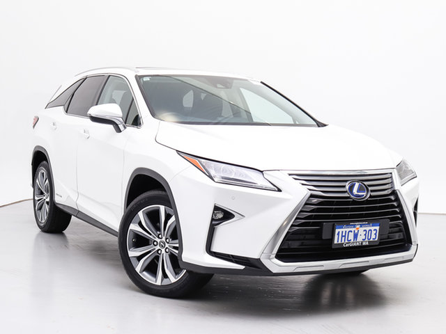 Used Lexus RX450HL GYL26R MY18 Luxury Hybrid, 2018 Lexus RX450HL GYL26R MY18 Luxury Hybrid White Continuous Variable Wagon