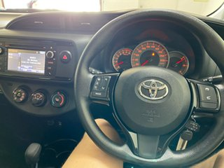 2019 Toyota Yaris NCP130R MY18 Ascent Red 4 Speed Automatic Hatchback