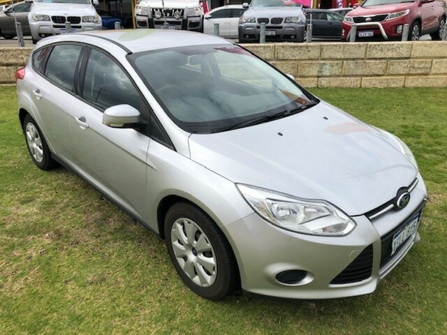 Used Ford Focus LW MkII Ambiente PwrShift Wangara, 2013 Ford Focus LW MkII Ambiente PwrShift Silver 6 Speed Sports Automatic Dual Clutch Hatchback