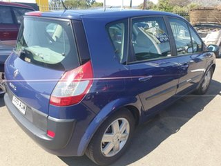 2006 Renault Scenic II J84 Dynamique Blue Diamond 4 Speed Sports Automatic Hatchback.