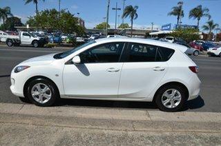 2012 Mazda 3 BL Series 2 MY13 Neo White 5 Speed Automatic Hatchback.