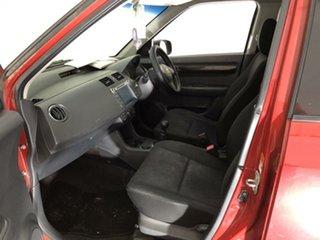 2007 Suzuki Swift RS415 S Red 5 Speed Manual Hatchback.