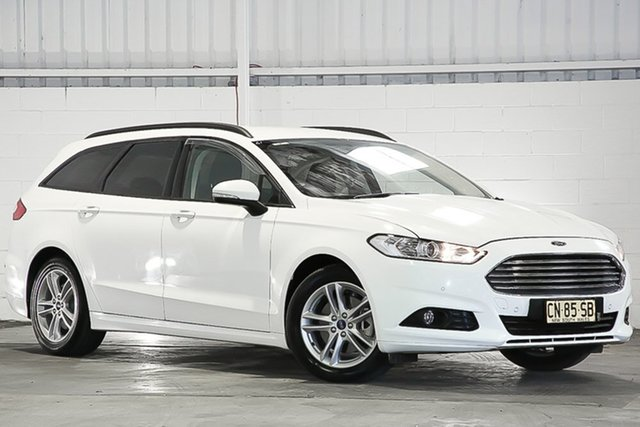 Used Ford Mondeo MD 2017.00MY Ambiente, 2017 Ford Mondeo MD 2017.00MY Ambiente White 6 Speed Sports Automatic Wagon