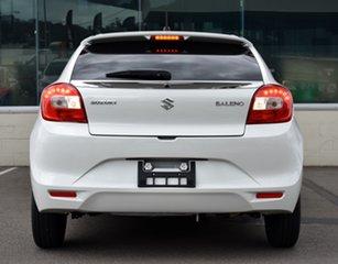 2020 Suzuki Baleno White Manual Hatchback