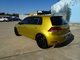 2017 Volkswagen Golf 7.5 MY18 110TSI DSG Highline Turmeric Yellow & Black Roof 7 Speed.