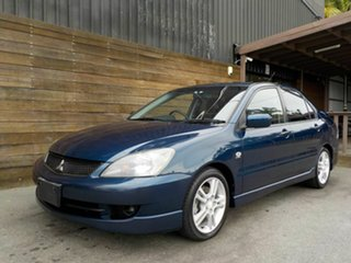 2006 Mitsubishi Lancer CH MY06 VR-X Blue 5 Speed Manual Sedan