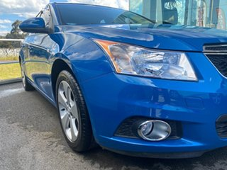 2014 Holden Cruze JH Series II MY14 Equipe Blue 6 Speed Sports Automatic Sedan