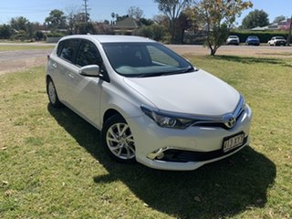 2018 Toyota Corolla ZRE182R Ascent Sport S-CVT Crystal Pearl 7 Speed Constant Variable Hatchback.