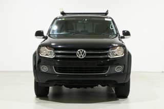 2015 Volkswagen Amarok 2H MY15 TDI420 Highline (4x4) Black 8 Speed Automatic Dual Cab Utility.