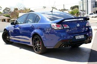 2015 Holden Commodore VF II MY16 SS V Redline Slipstream Blue 6 Speed Manual Sedan.