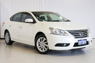 2016 Nissan Pulsar B17 Series 2 ST-L White 1 Speed Constant Variable Sedan.