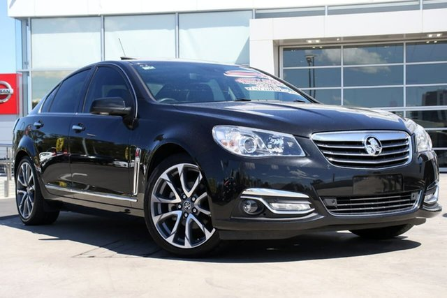 Used Holden Calais VF II MY16 V, 2016 Holden Calais VF II MY16 V Black 6 Speed Sports Automatic Sedan