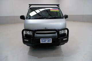 2015 Toyota HiAce TRH201R LWB Silver 6 Speed Automatic Van.
