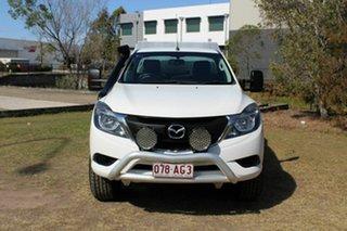 2016 Mazda BT-50 UR0YF1 XT White 6 Speed Manual Cab Chassis.