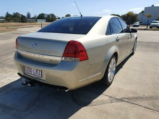 2009 Holden Caprice WM MY09.5 Beige 6 Speed Sports Automatic Sedan.