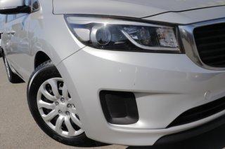 2018 Kia Carnival YP MY18 S Silky Silver 6 Speed Sports Automatic Wagon.