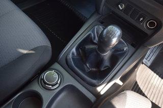 2018 Mitsubishi Triton MQ MY18 GLX Double Cab  Black Mica Metallic 6 Speed Manual Cab Chassis
