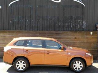 2013 Mitsubishi Outlander ZJ MY13 ES 4WD Bronze 6 Speed Constant Variable Wagon.