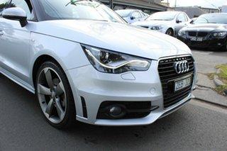 2012 Audi A1 8X MY12 Sport Sportback S Tronic Silver 7 Speed Sports Automatic Dual Clutch Hatchback