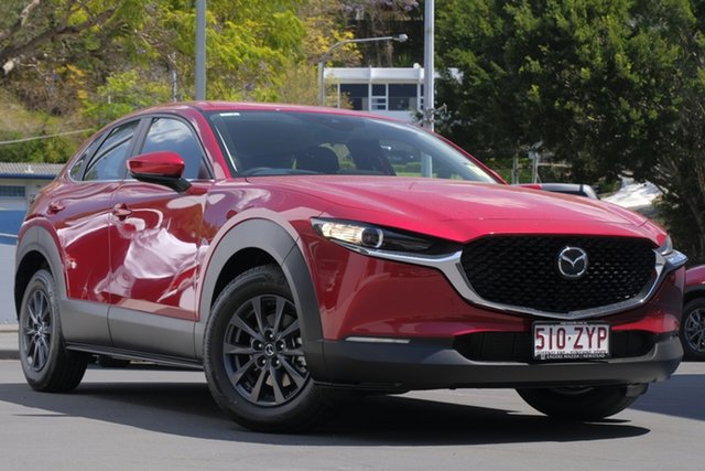 Demo Mazda CX-30 DM2W7A G20 SKYACTIV-Drive Pure Newstead, 2020 Mazda CX-30 DM2W7A G20 SKYACTIV-Drive Pure Soul Red Crystal 6 Speed Sports Automatic Wagon