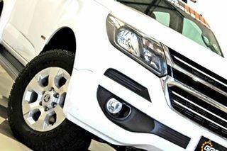 2017 Holden Colorado RG MY18 LT (4x2) White 6 Speed Automatic Crew Cab Pickup.