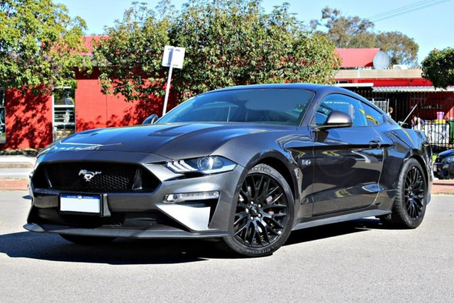 Used Ford Mustang FN 2019MY GT, 2018 Ford Mustang FN 2019MY GT Grey 10 Speed Sports Automatic Fastback
