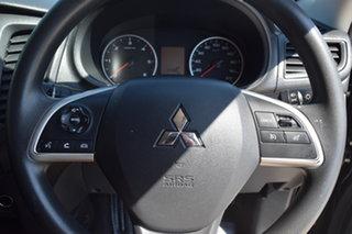 2018 Mitsubishi Triton MQ MY18 GLX Double Cab  Black Mica Metallic 6 Speed Manual Cab Chassis.
