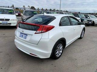 2013 Honda Civic FK MY13 VTi-S White 6 Speed Manual Hatchback