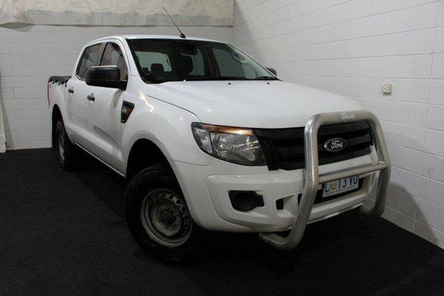 Used Ford Ranger PX XL, 2012 Ford Ranger PX XL White 6 Speed Sports Automatic Utility