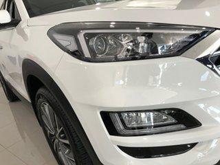 2020 Hyundai Tucson TL3 MY20 Elite AWD Pure White 8 Speed Sports Automatic Wagon.