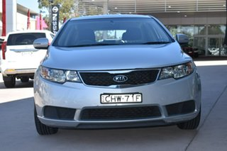 2012 Kia Cerato TD MY12 SI Bright Silver 6 Speed Sports Automatic Hatchback