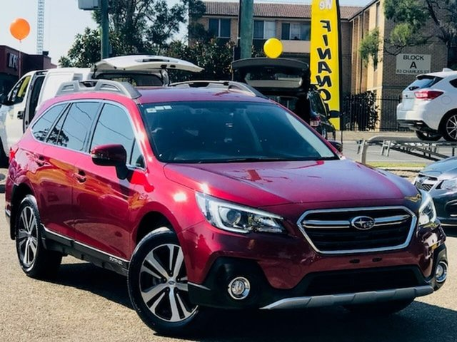 Used Subaru Outback B6A MY18 2.5i CVT AWD, 2018 Subaru Outback B6A MY18 2.5i CVT AWD Red 7 Speed Constant Variable Wagon