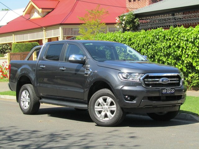 Used Ford Ranger PX MkIII 2019.75MY XLT, 2019 Ford Ranger PX MkIII 2019.75MY XLT Grey 6 Speed Sports Automatic Super Cab Pick Up