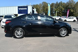 2015 Toyota Corolla ZRE172R SX S-CVT Black 7 Speed Constant Variable Sedan.