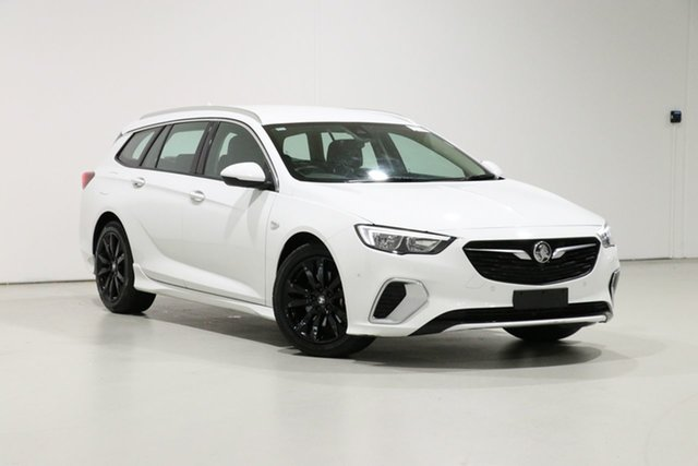 Used Holden Commodore ZB RS, 2018 Holden Commodore ZB RS White 9 Speed Automatic Sportswagon
