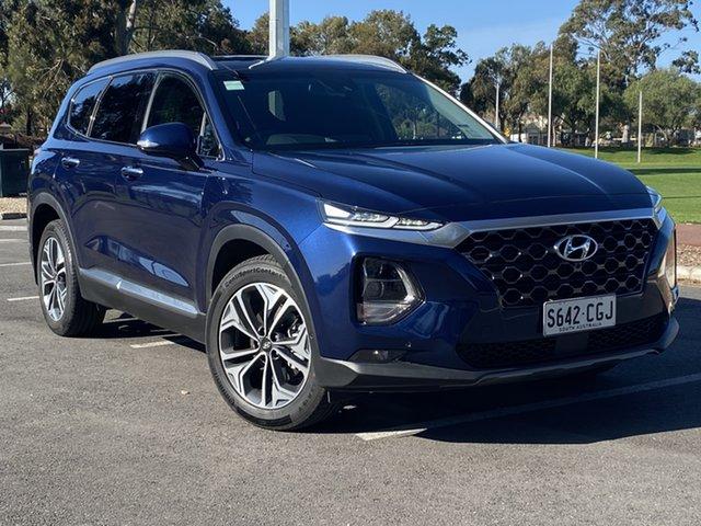 Demo Hyundai Santa Fe TM.2 MY20 Highlander, 2020 Hyundai Santa Fe TM.2 MY20 Highlander Stormy Sea 8 Speed Sports Automatic Wagon