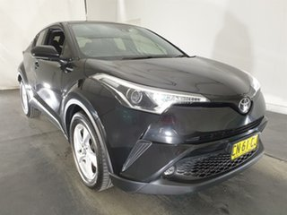 2017 Toyota C-HR NGX50R S-CVT AWD Black 7 Speed Constant Variable Wagon.