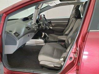 2006 Honda Civic 8th Gen MY07 Sport Red 5 Speed Manual Sedan