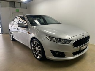 2015 Ford Falcon FG X XR6 Silver 6 Speed Auto Seq Sportshift Sedan.