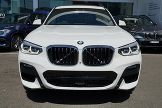 2019 BMW X3 G01 xDrive30i M Sport Alpine White 8 Speed Auto Steptronic Sport Wagon