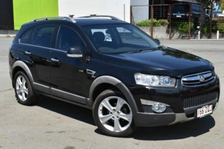 2012 Holden Captiva CG Series II 7 LX (4x4) Black 6 Speed Automatic Wagon.
