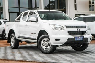 2015 Holden Colorado RG MY16 LS Space Cab Summit White 6 Speed Sports Automatic Cab Chassis.