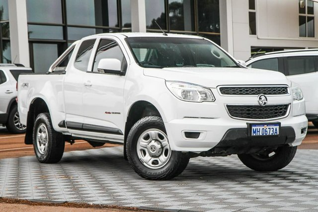 Used Holden Colorado RG MY16 LS Space Cab Attadale, 2015 Holden Colorado RG MY16 LS Space Cab Summit White 6 Speed Sports Automatic Cab Chassis