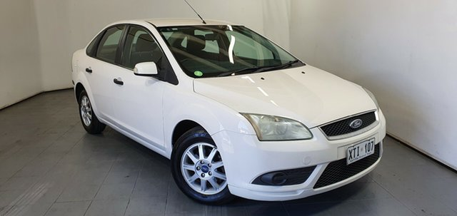 Used Ford Focus LT CL Elizabeth, 2008 Ford Focus LT CL White 4 Speed Sports Automatic Sedan