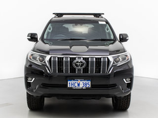 2018 Toyota Landcruiser Prado GDJ150R MY18 VX (4x4) Black 6 Speed Automatic Wagon.