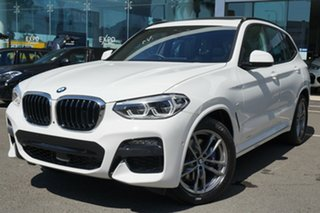 2019 BMW X3 G01 xDrive30i M Sport Alpine White 8 Speed Auto Steptronic Sport Wagon.